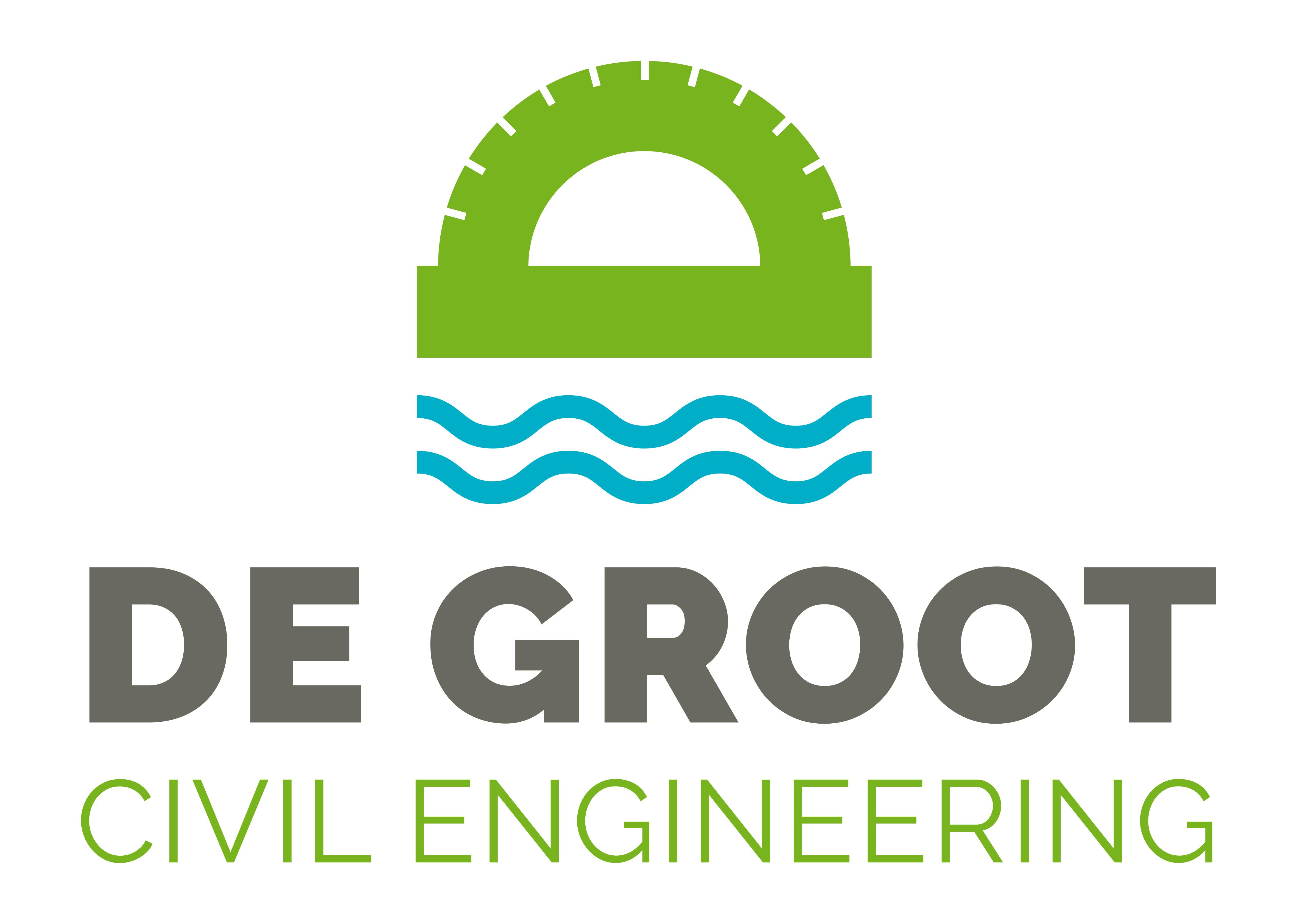 Nieuw logo voor de Groot Civil Engineering